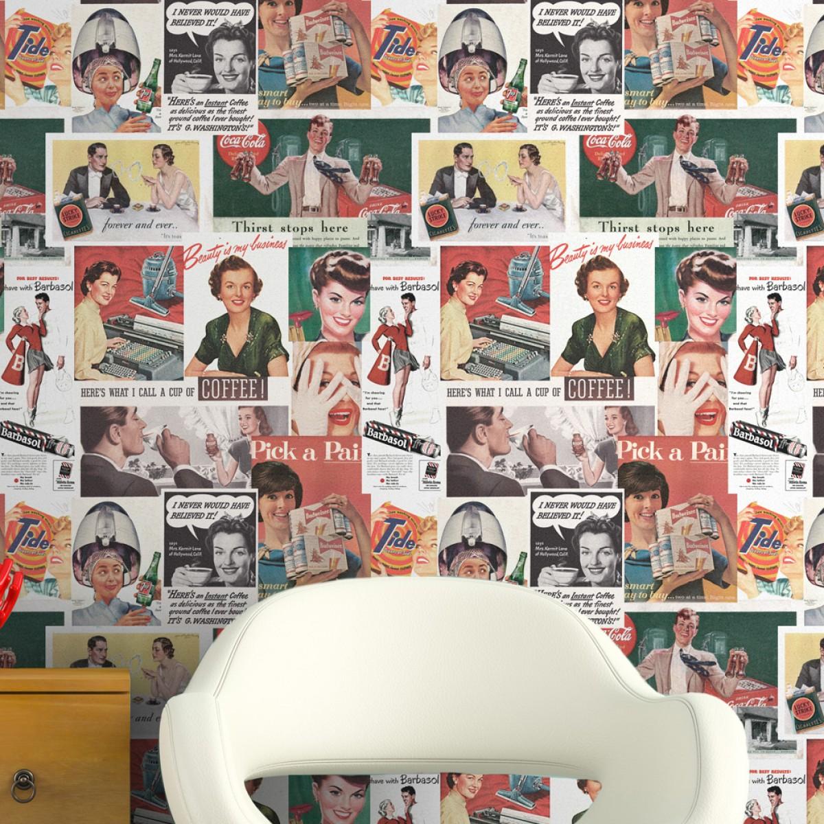 Tapet designer Retro Metro Retro ADS, MINDTHEGAP