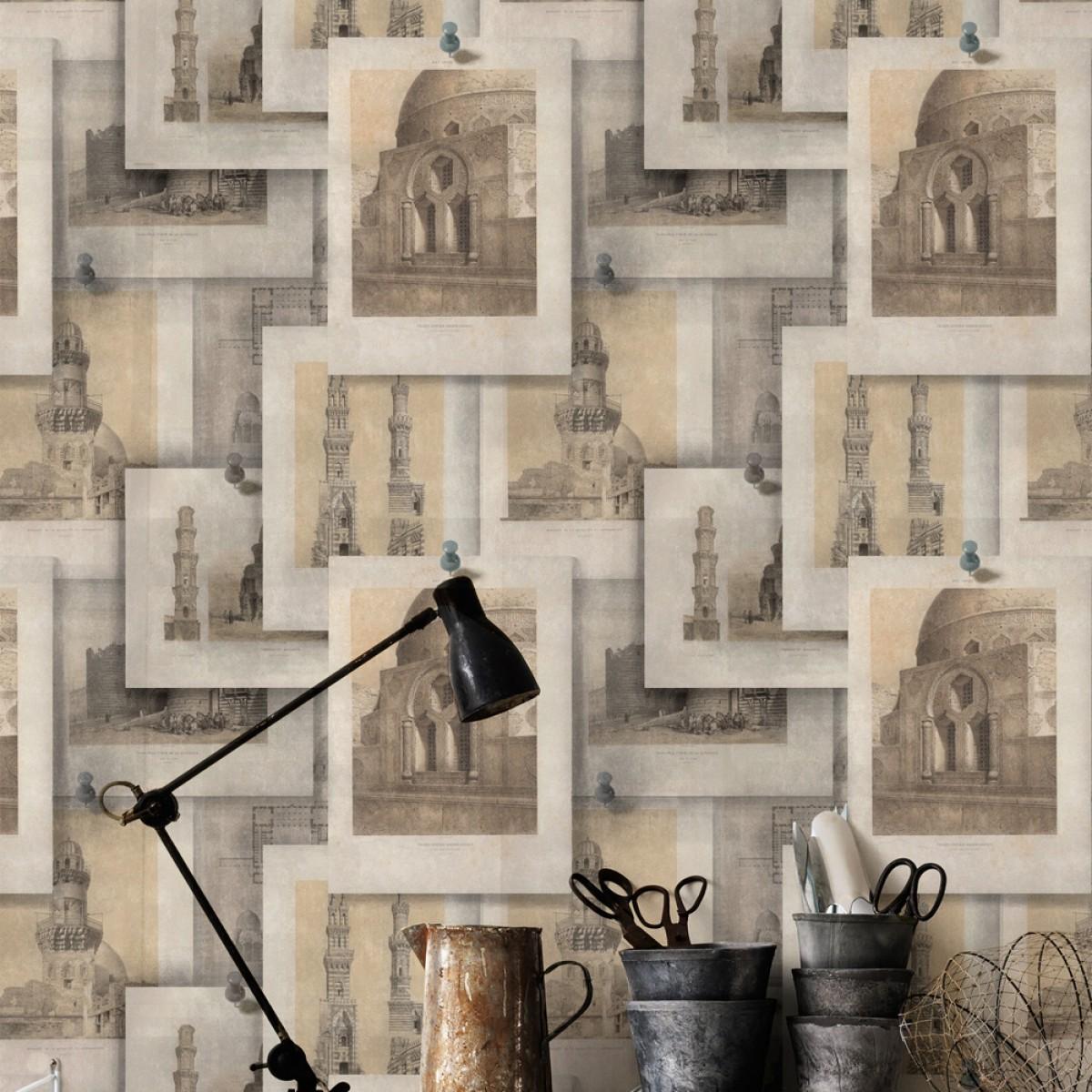 Tapet designer The Architect ARABIAN Monuments, MINDTHEGAP
