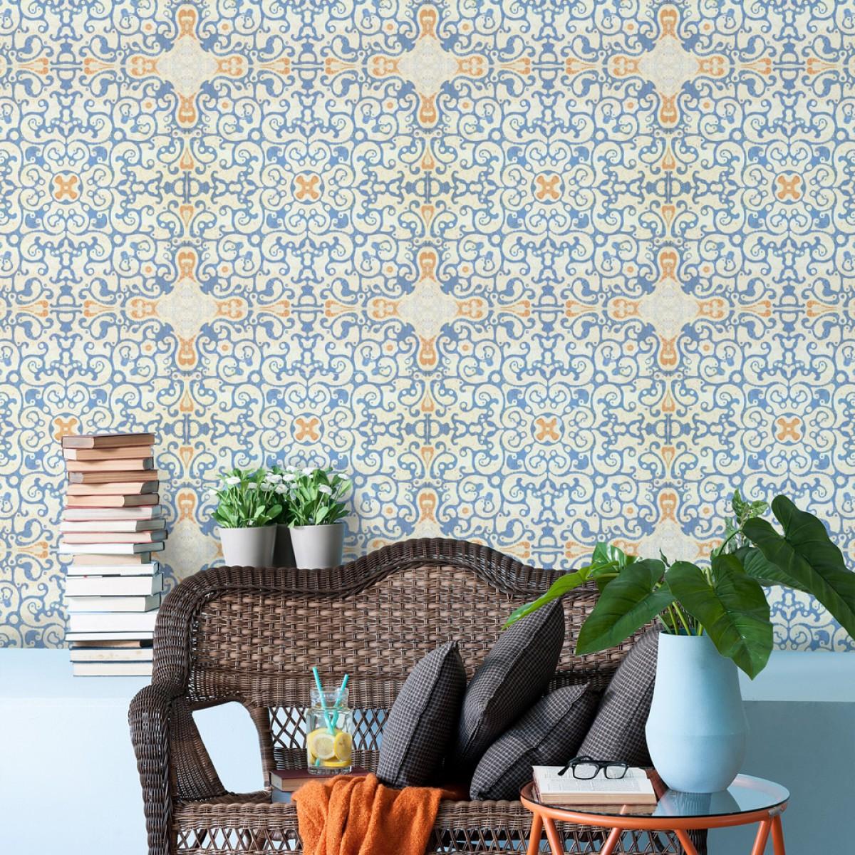 Tapet designer World Culture Spanish Tile, MINDTHEGAP