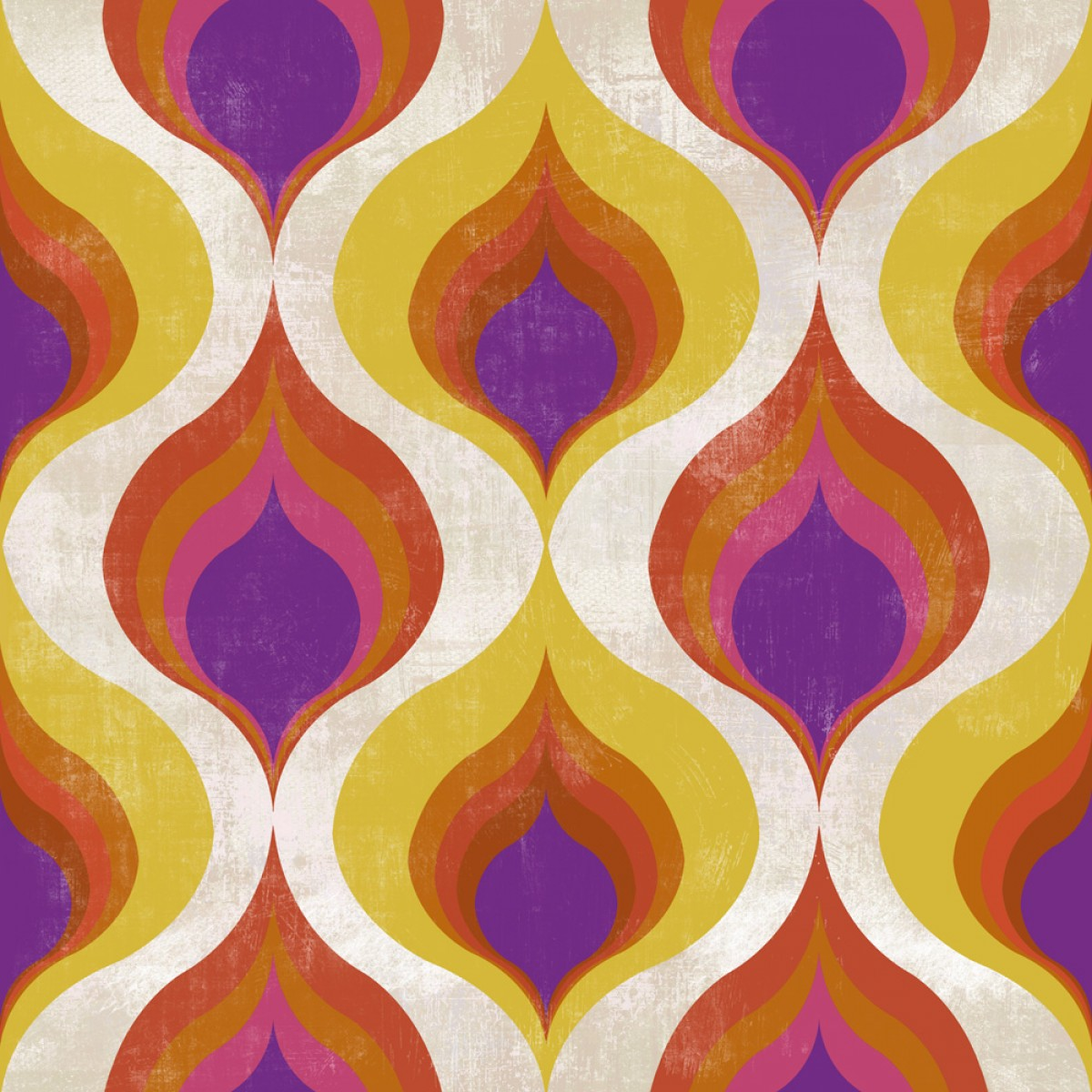 Tapet designer Pattern Ottoman Pattern, MINDTHEGAPAP