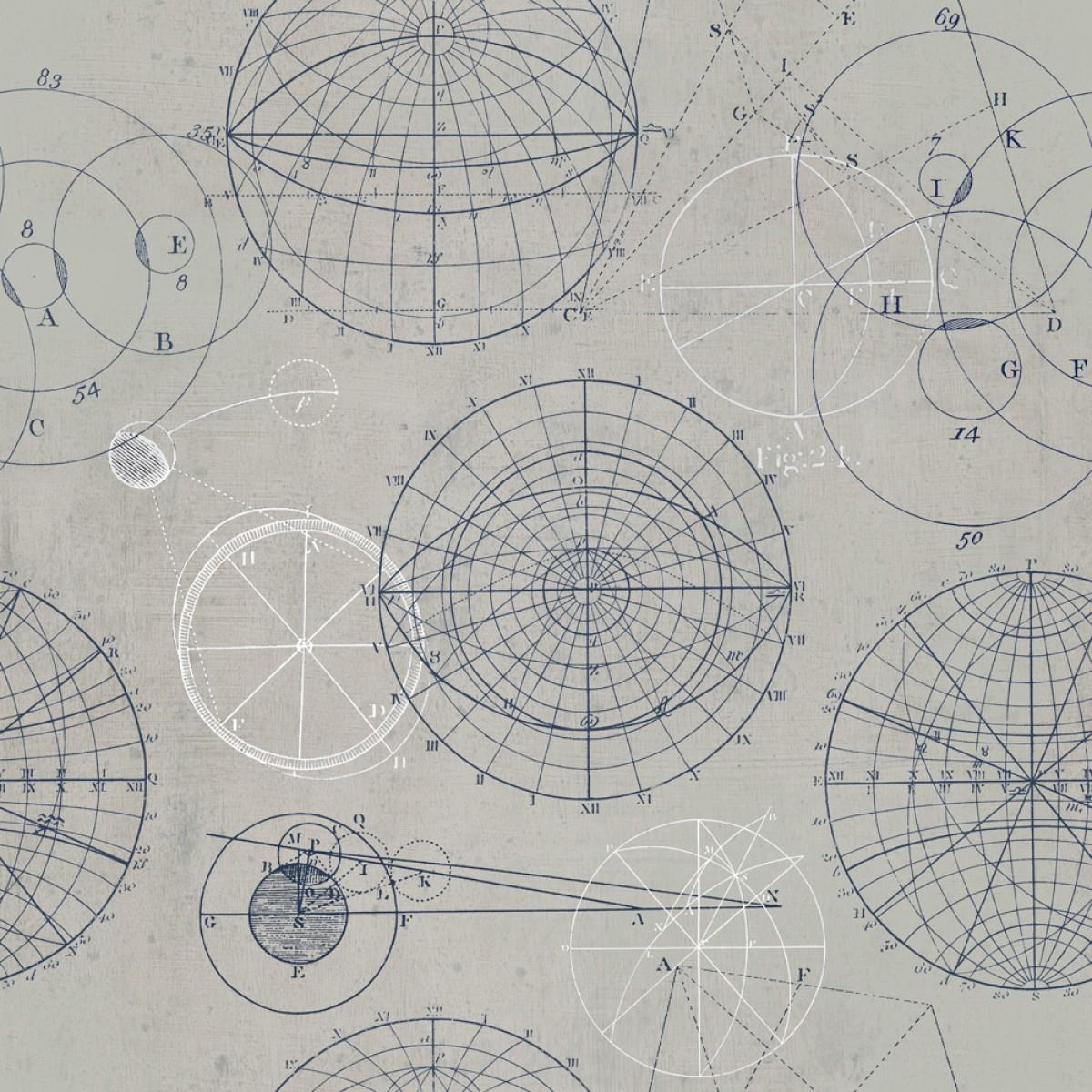 Tapet designer Discovery Astronomy, MINDTHEGAP