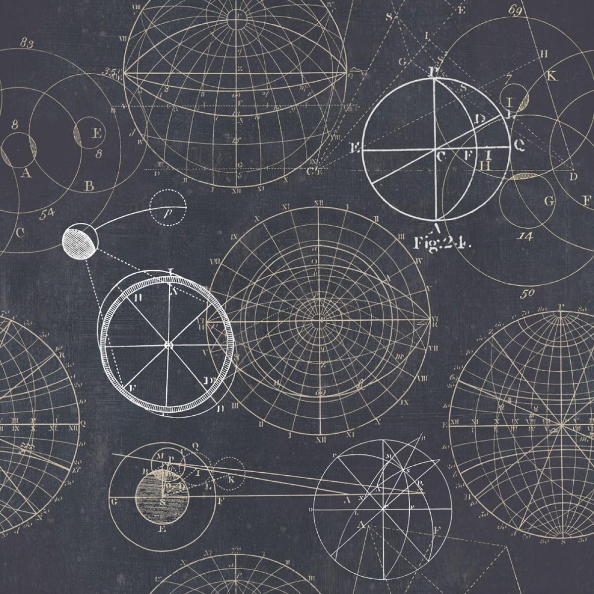 Tapet designer Discovery Astronomy Blue, MINDTHEGAP