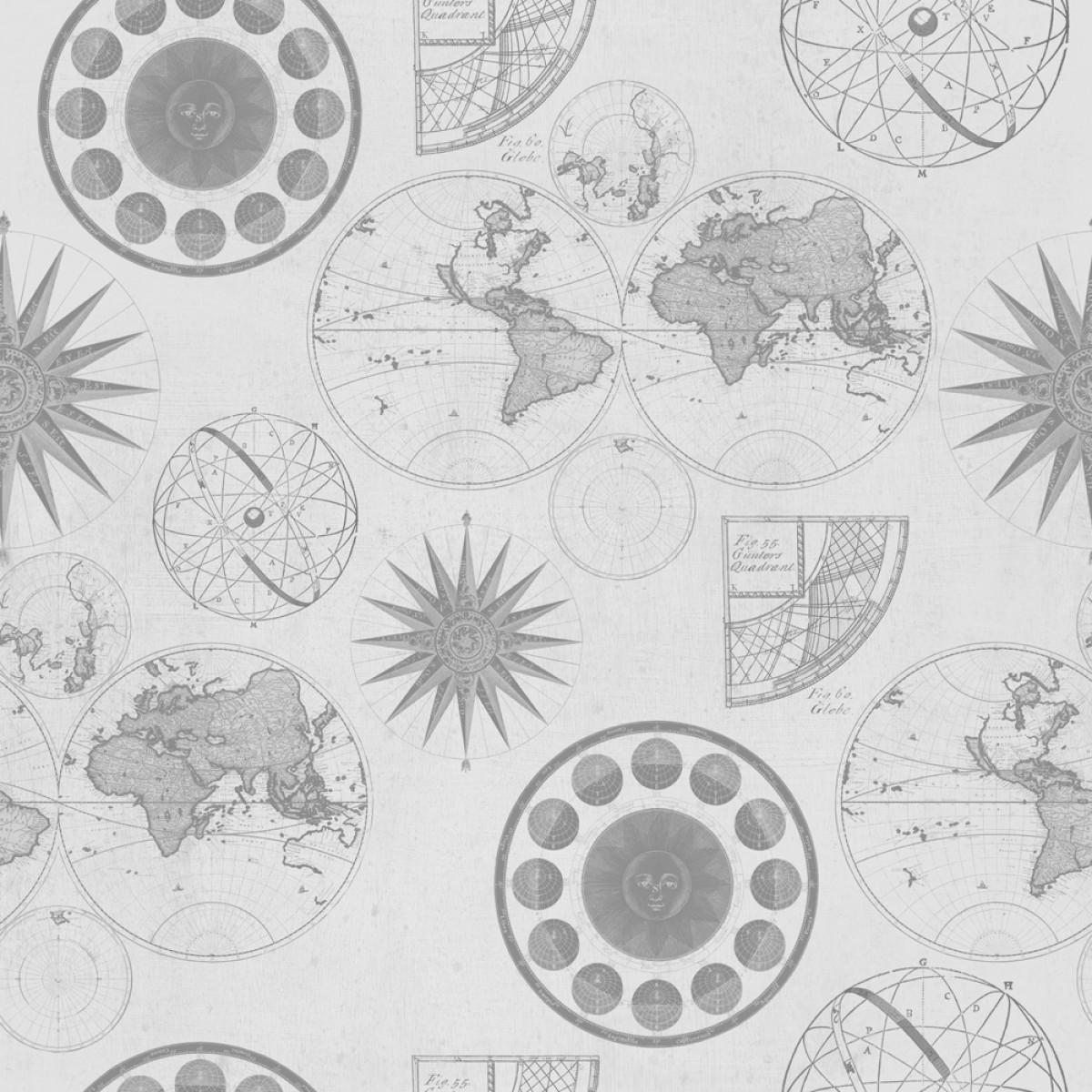 Tapet designer Discovery Navigation Neutral, MINDTHEGAP