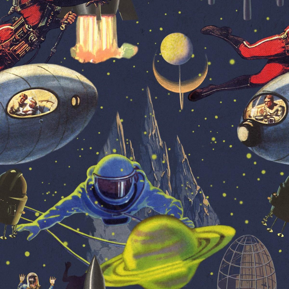 Tapet designer Comics Intergalactic, MINDTHEGAP
