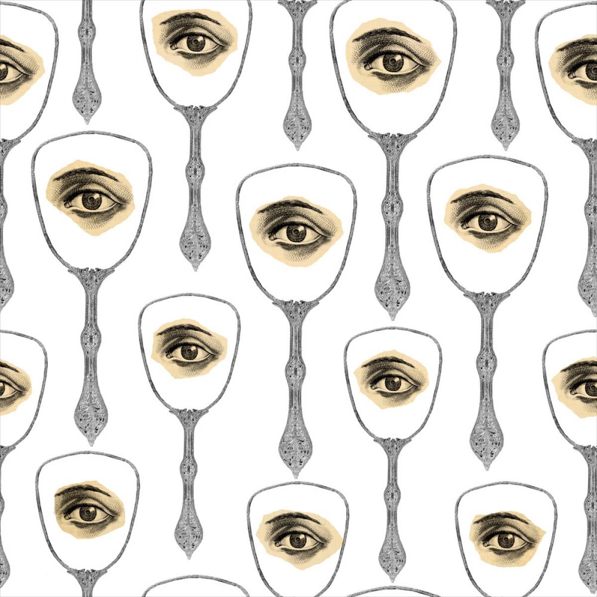 Tapet designer Illusions Mirror s Eye Neutral, MINDTHEGAP