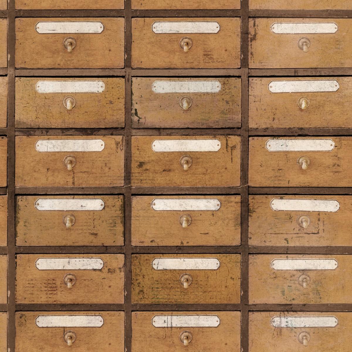 Tapet designer The Scientist Vintage Pharmacy, MINDTHEGAP