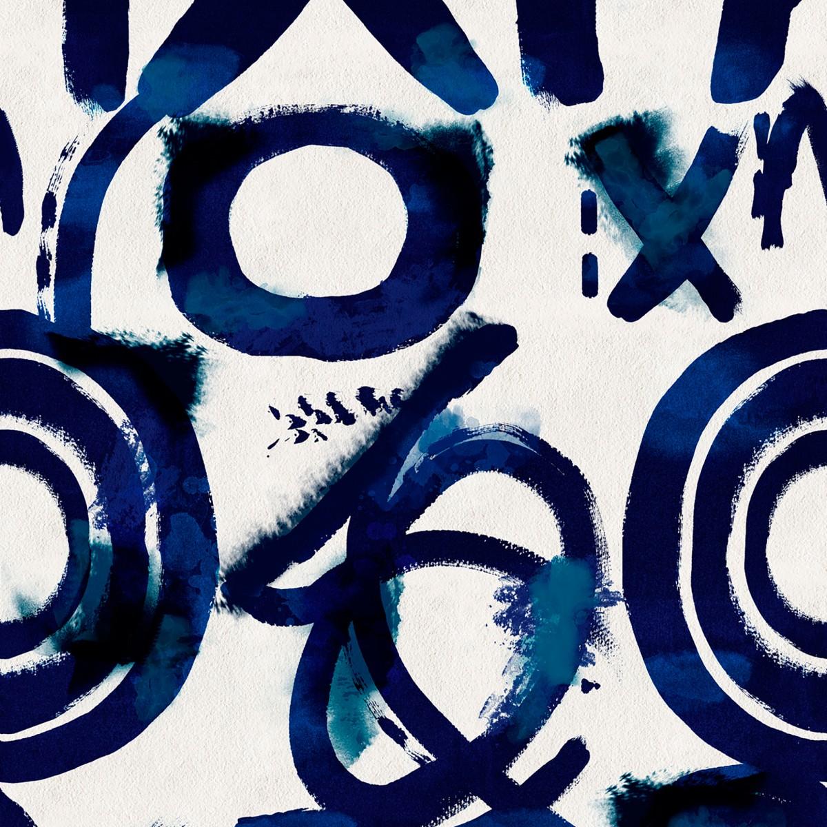 Tapet designer SPONTANEUS Blue, MINDTHEGAP