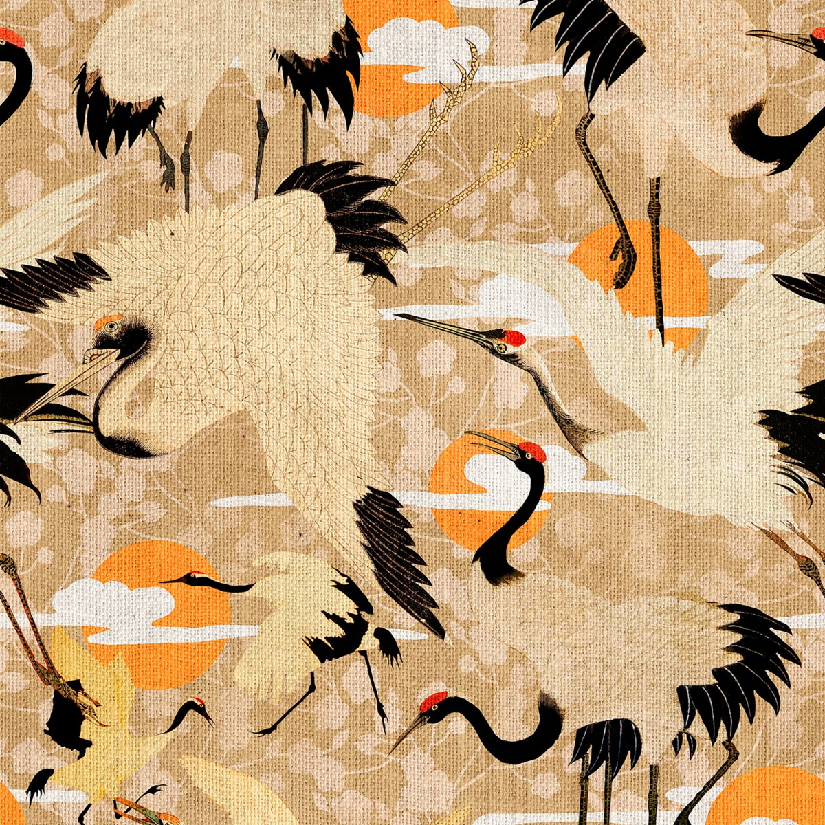 Tapet designer BIRDS OF HAPPINESS, MINDTHEGAP