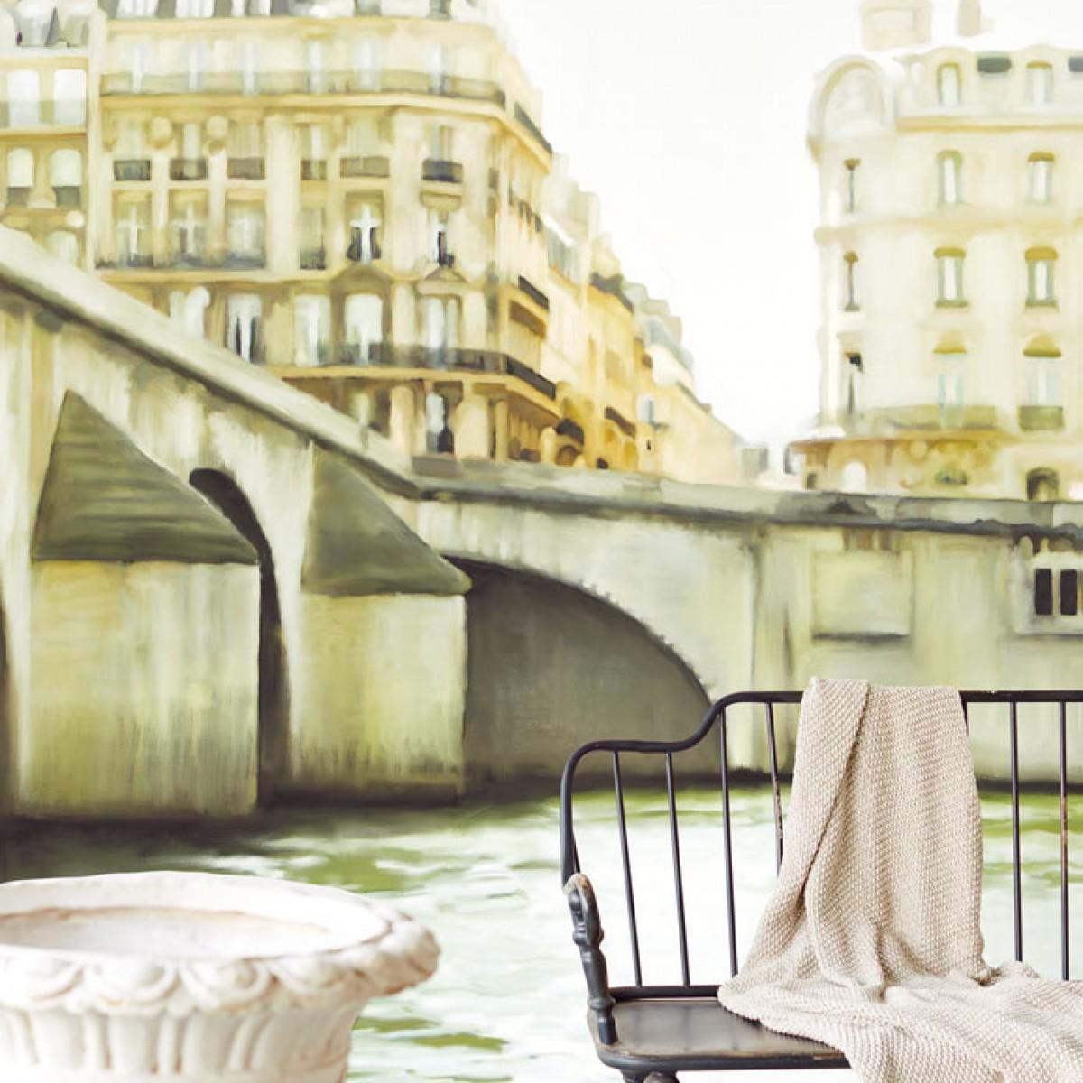 Tapet lavabil Bisou de MMe Pitou 365110, 280x186cm, Eijffinger