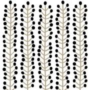 Fototapet Herbs alb negru, personalizat, lavmi