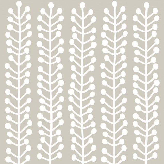 Fototapet Herbs gri alb, personalizat, lavmi