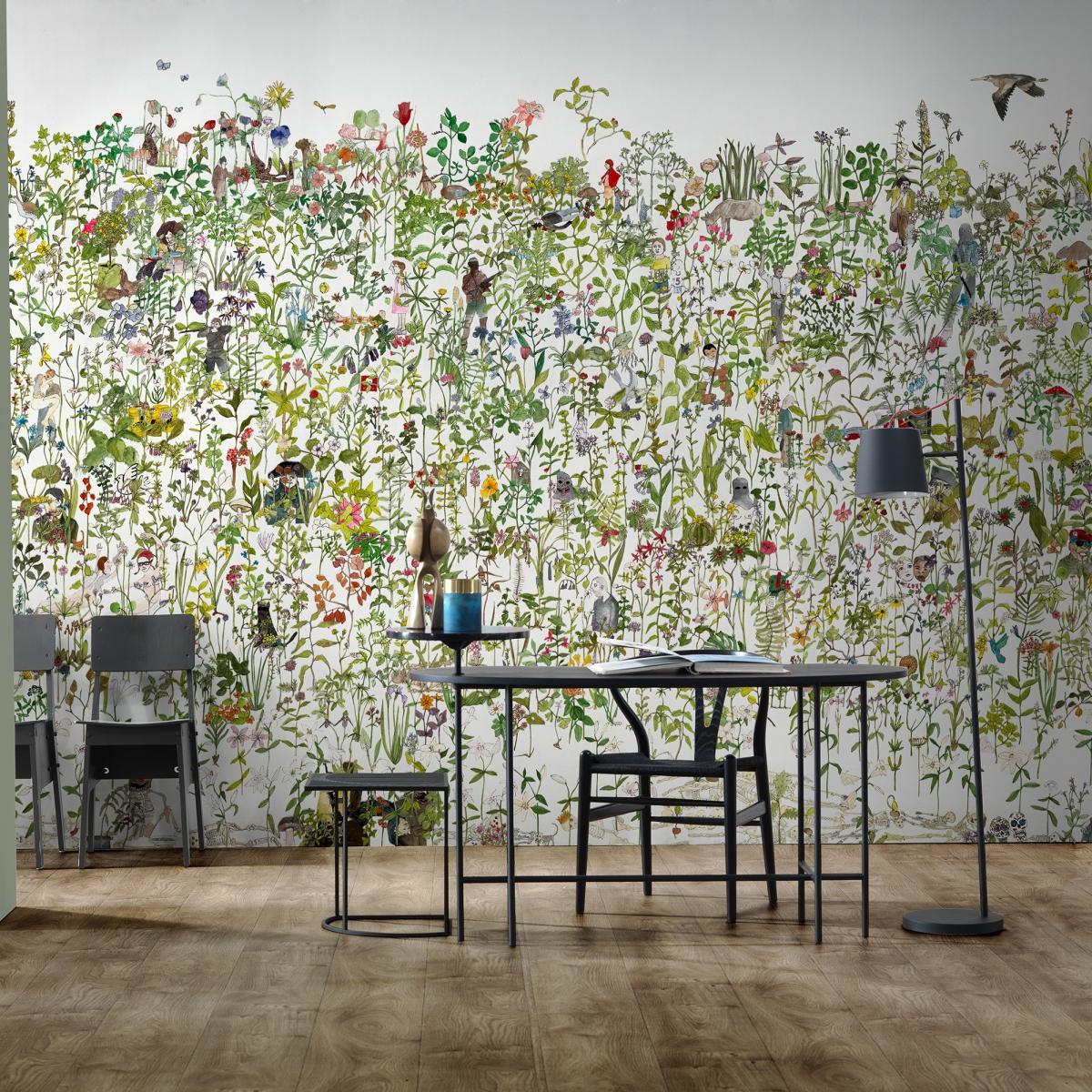 Tapet designer Enchanted Garden by Anna Surie, ASU-01, NLXL, 5.1-15.3 mp / model, Tapet Exclusivist, Tapet