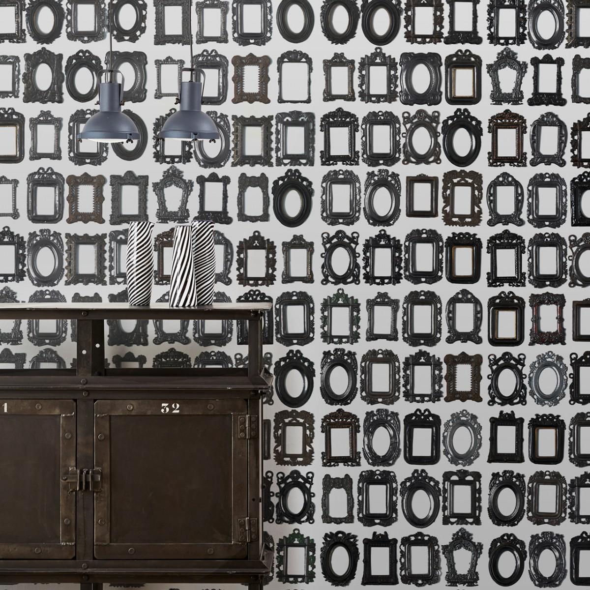 Tapet designer Obsession - Frames by Daniel Rozensztroch, DRO-01, NLXL, 4.9mp / rola