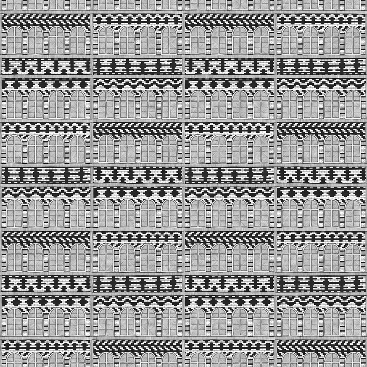 Tapet designer Palazzo Della Lalala by NIGHTSHOP, NSH-01, NLXL, 4.9mp / rola