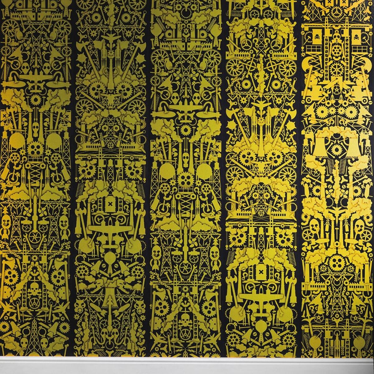 Tapet designer Robber Baron by Studio Job, ediție limitată, JOB-09, NLXL, 4.4mp / rola