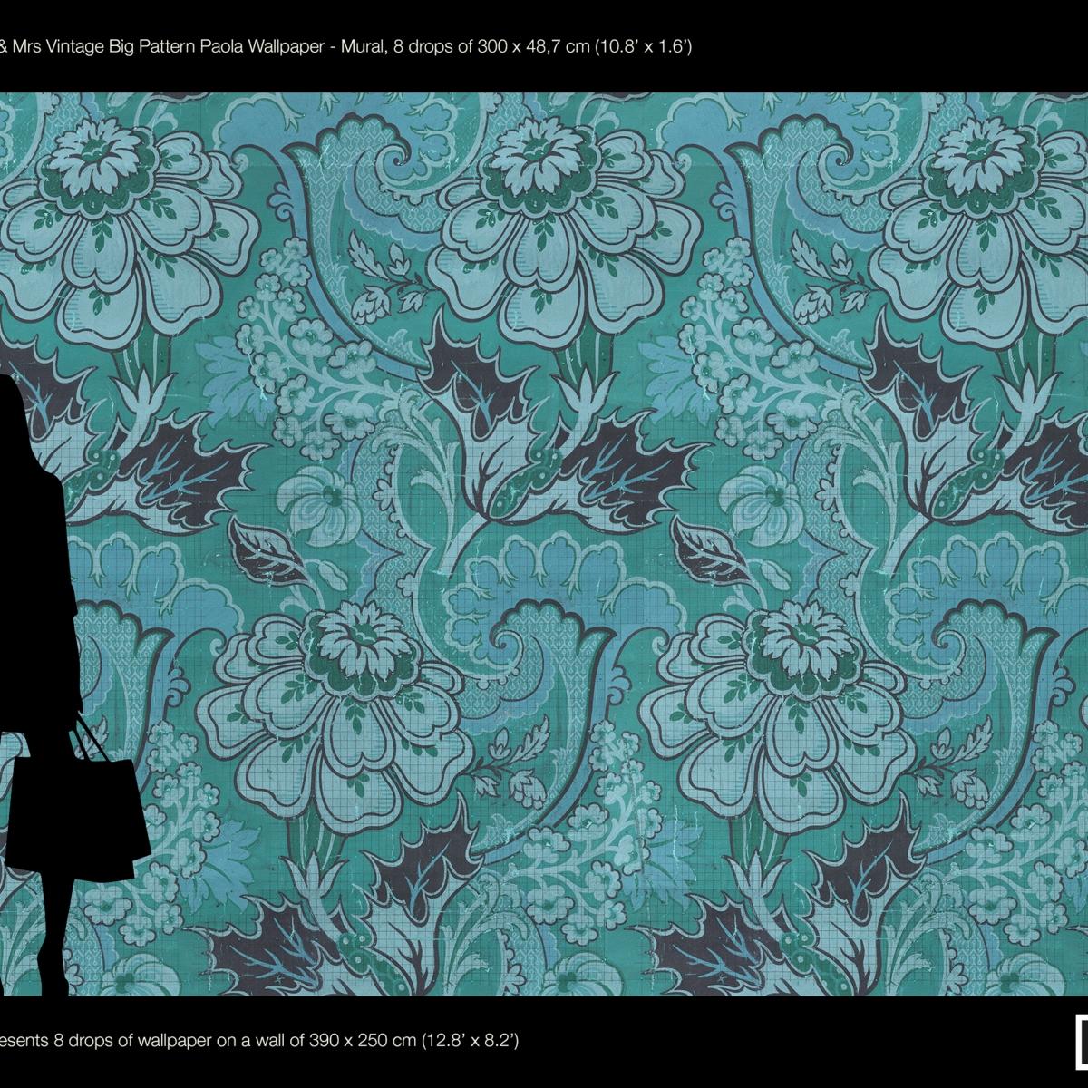 Tapet designer Paola by Mr and Mrs Vintage, MRV-03, NLXL, 5.1-15.3mp / model
