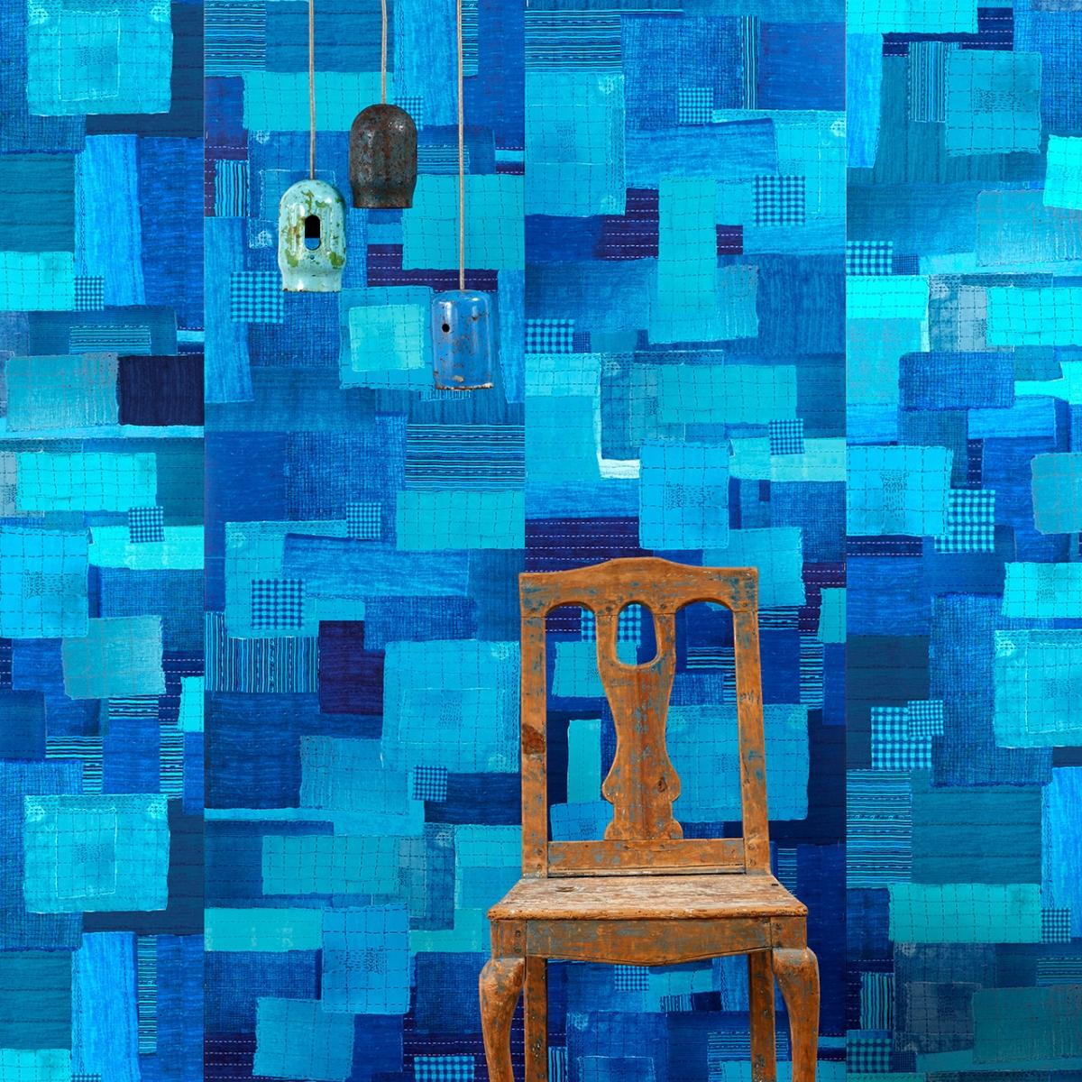 Tapet designer Shibori by Paola Navone, PNO-03, NLXL, 4.9mp / rola