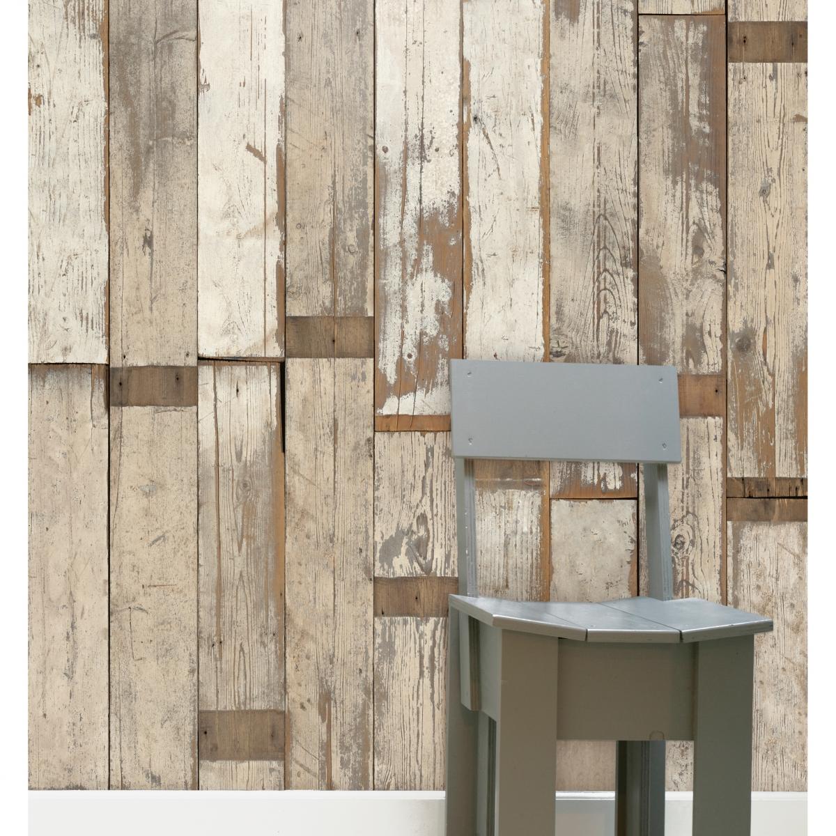 Tapet designer Scrapwood by Piet Hein Eek, PHE, NLXL, 4.4mp / rola