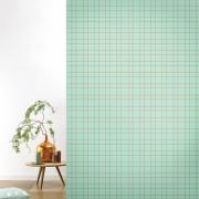 Tapet lavabil premium pastel GRID, 4 x 50cm x 285cm, ROOMblush