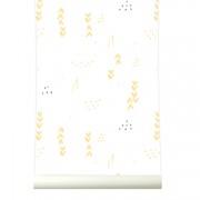 Tapet premium pastel FLORAL, 4 x 50cm x 285cm, ROOMblush