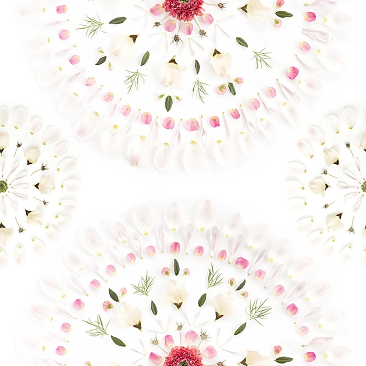 Tapet lavabil Flower Tiles 628-01, Sandberg, 4.86mp / rola