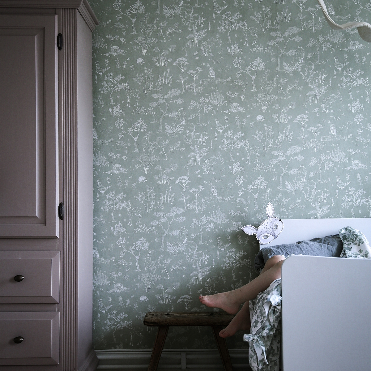 Tapet lavabil Hollie 232, Sandberg, 5.3mp / rola