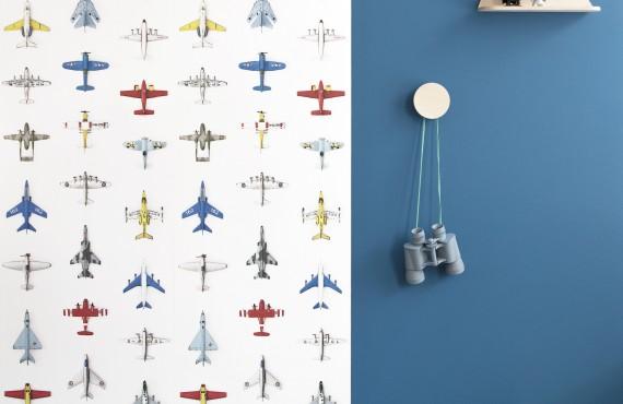 Tapet pentru copii Airplanes - studio ditte