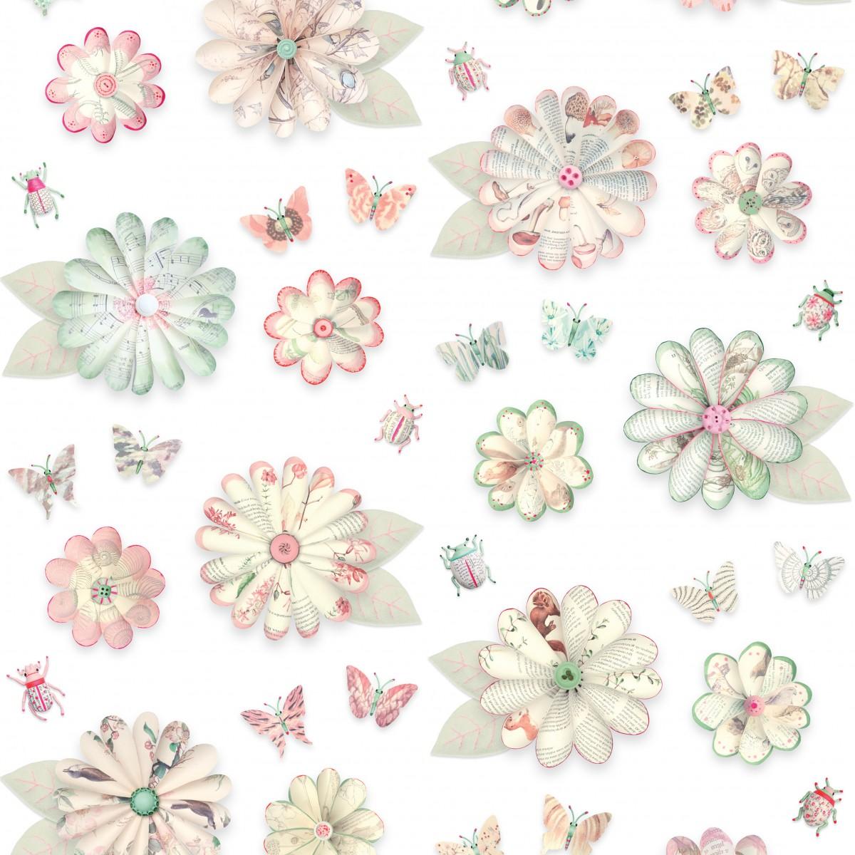 Tapet pentru copii Floral - studio ditte