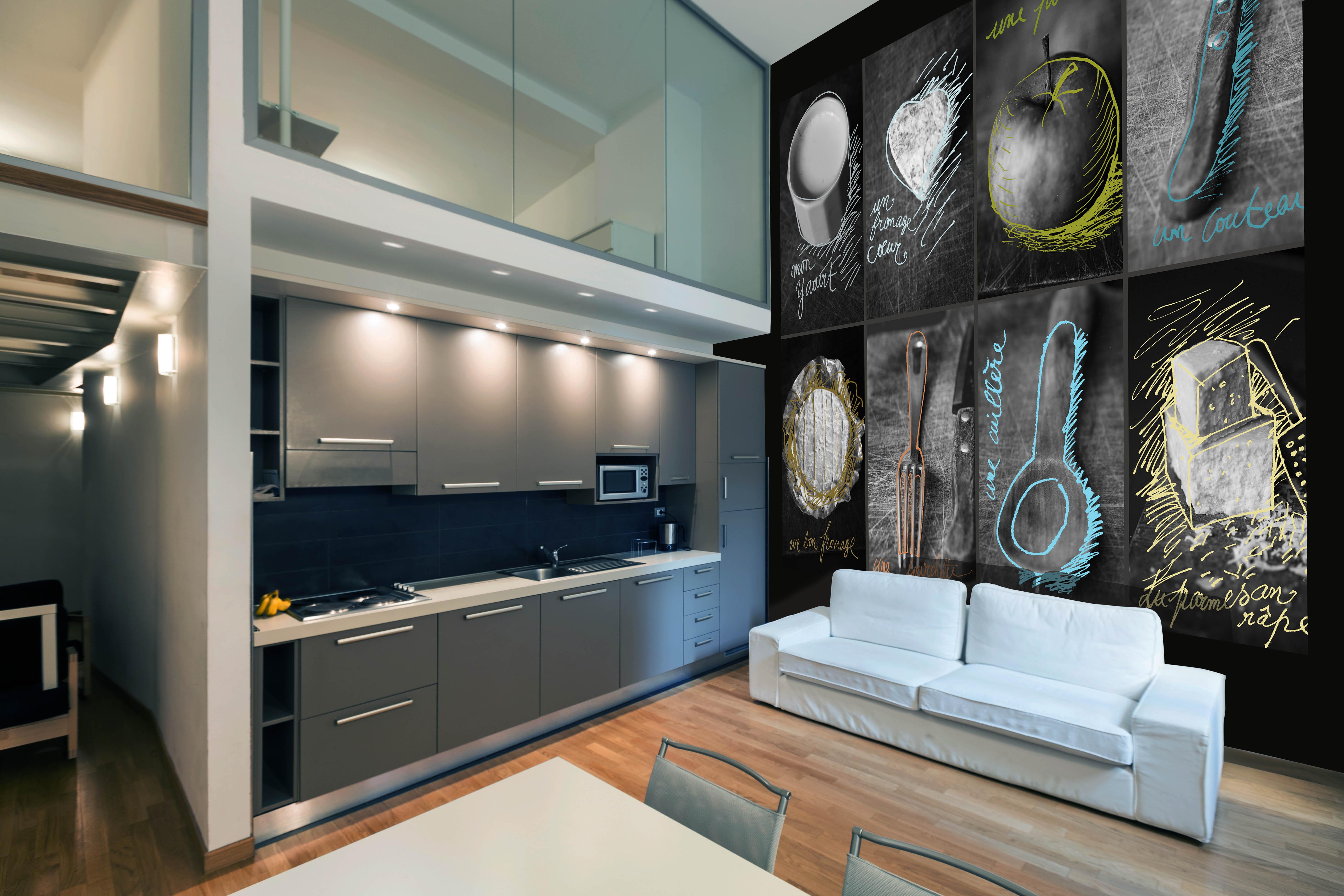 Fototapet Kitchen D195  Personalizat  Increation