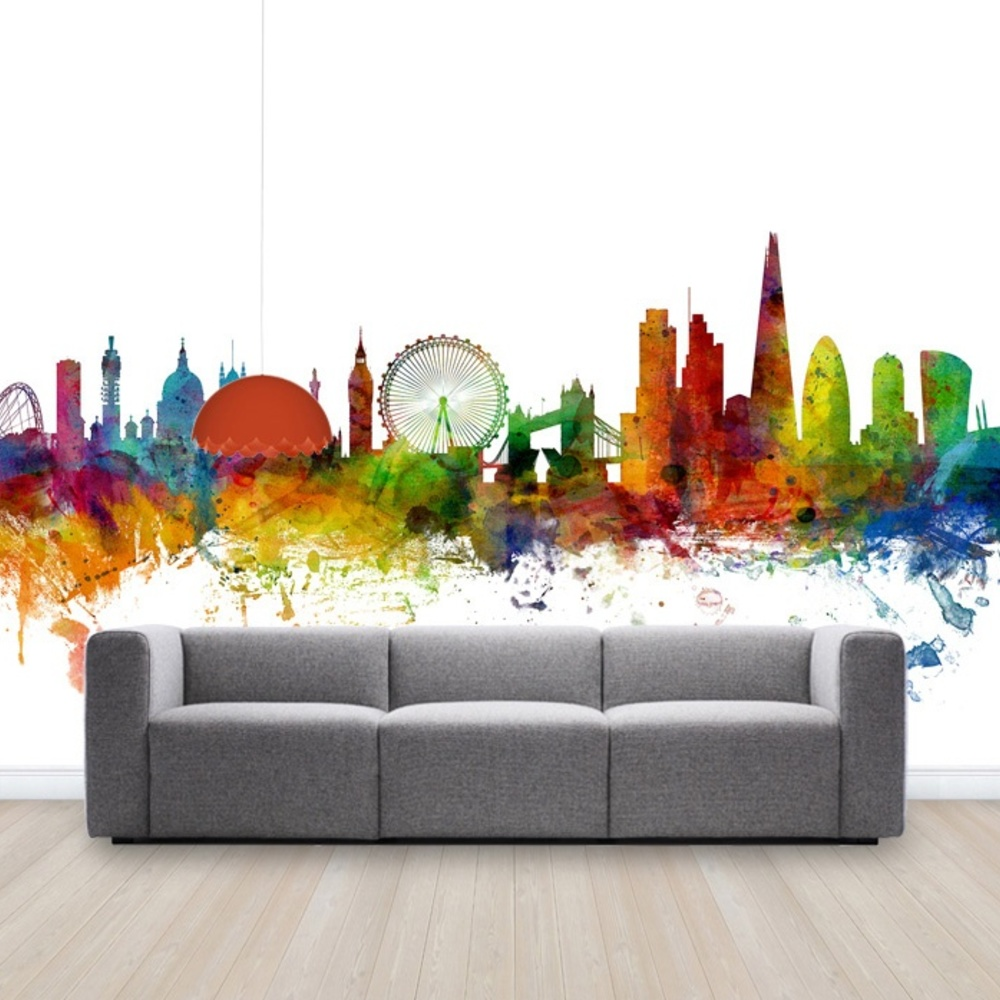 Fototapet London Skyline 2  Personalizat  Photowal