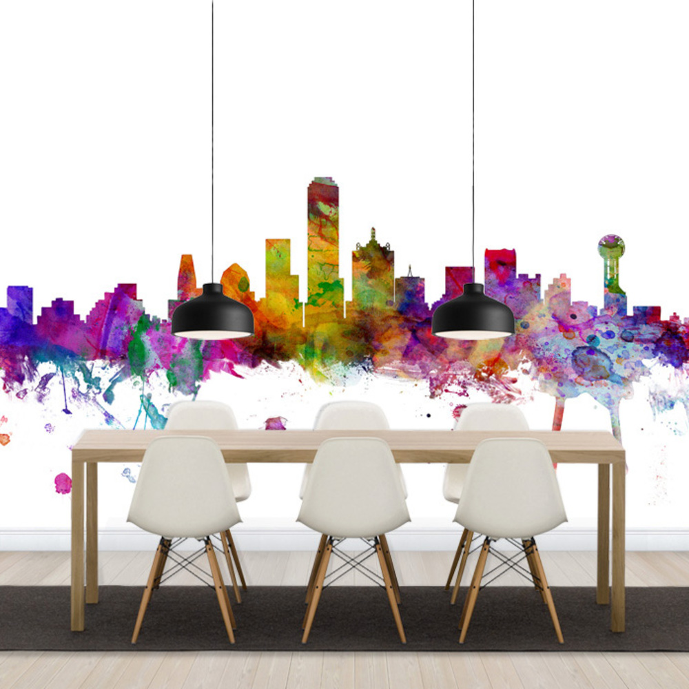 Fototapet Dallas Texas Skyline  Personalizat  Photowall