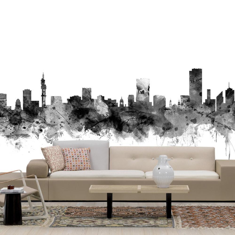 Fototapet Pretoria South Africa Skyline Black  Personalizat  Photowall