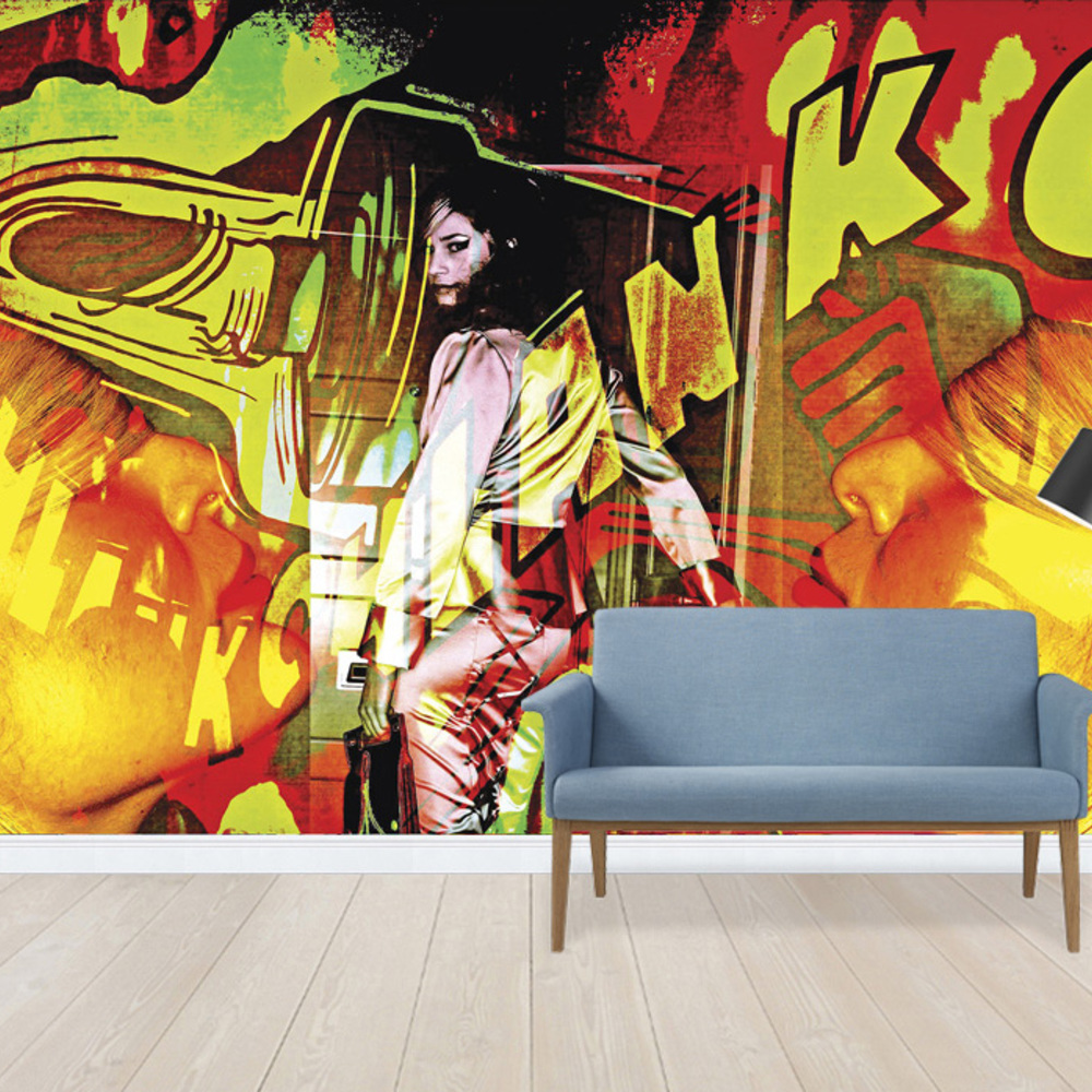 Fototapet Graffitti Wall  Personalizat  Photowall