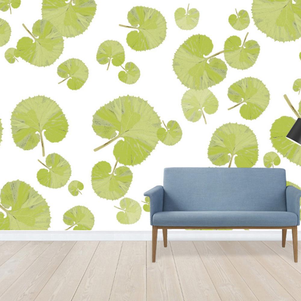 Fototapet Leaf - Green  Personalizat  Photowall