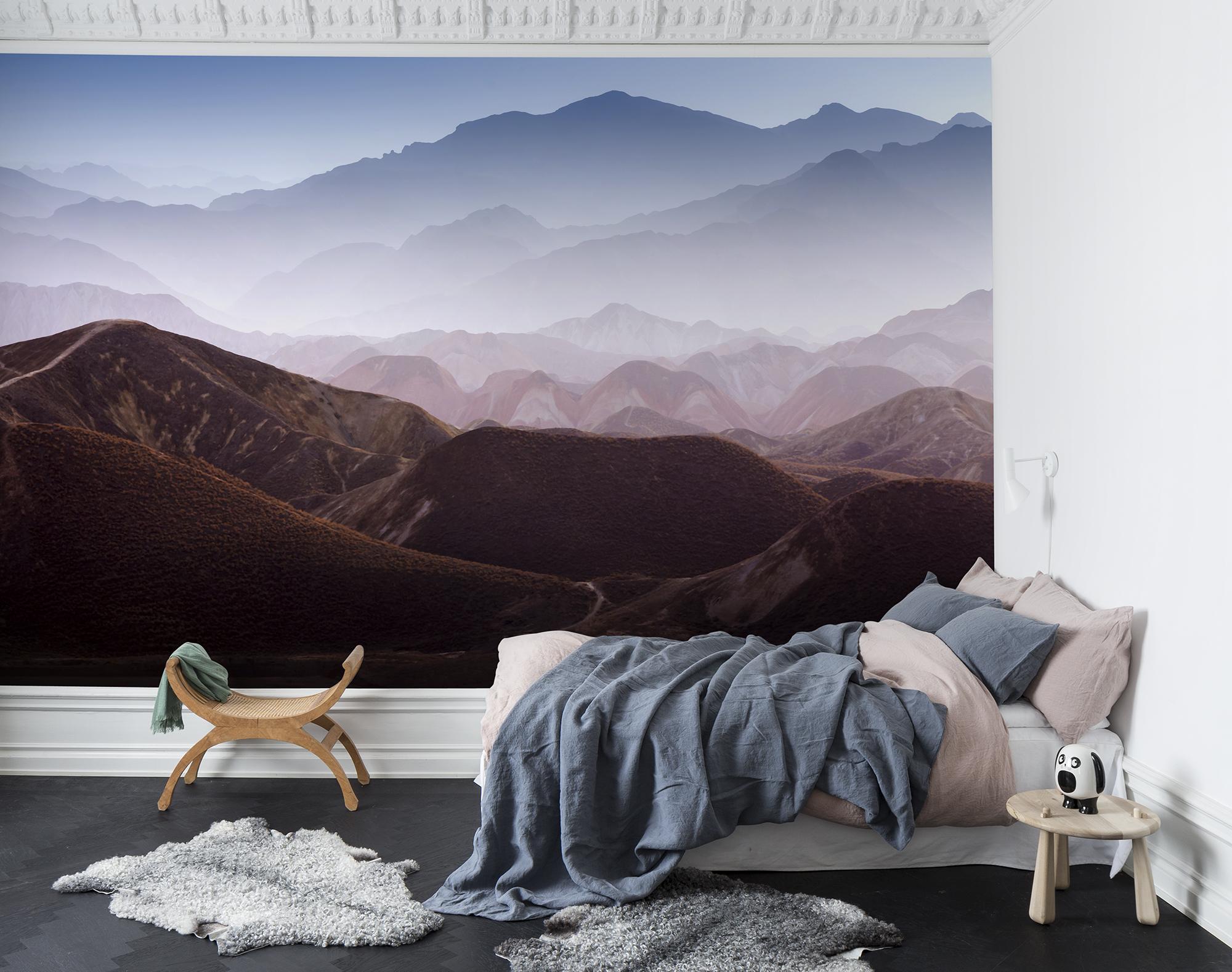 Fototapet Gradient Mountains  Personalizat  Rebel