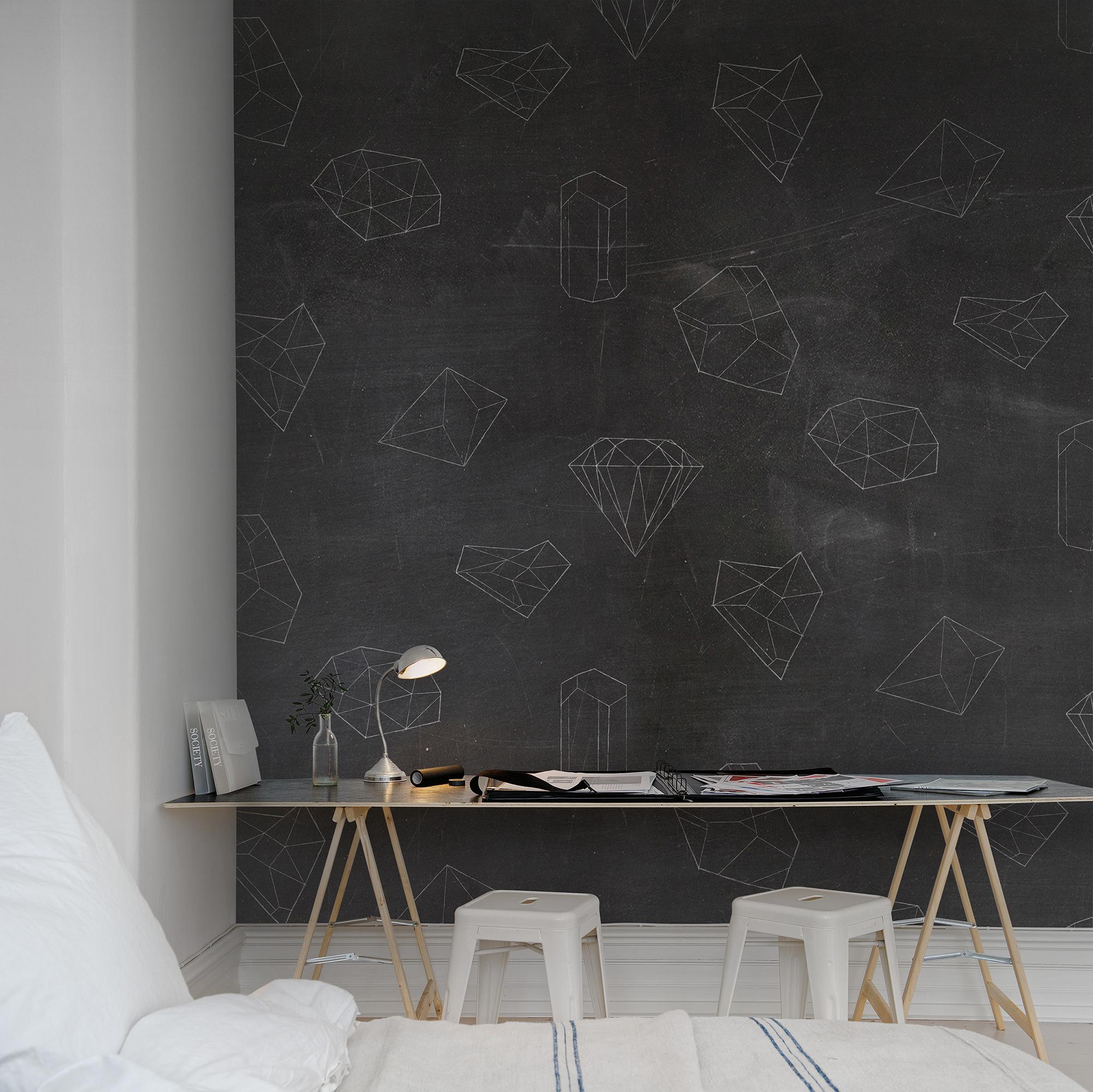 Fototapet Chalkboard  Personalizat  Rebel Walls