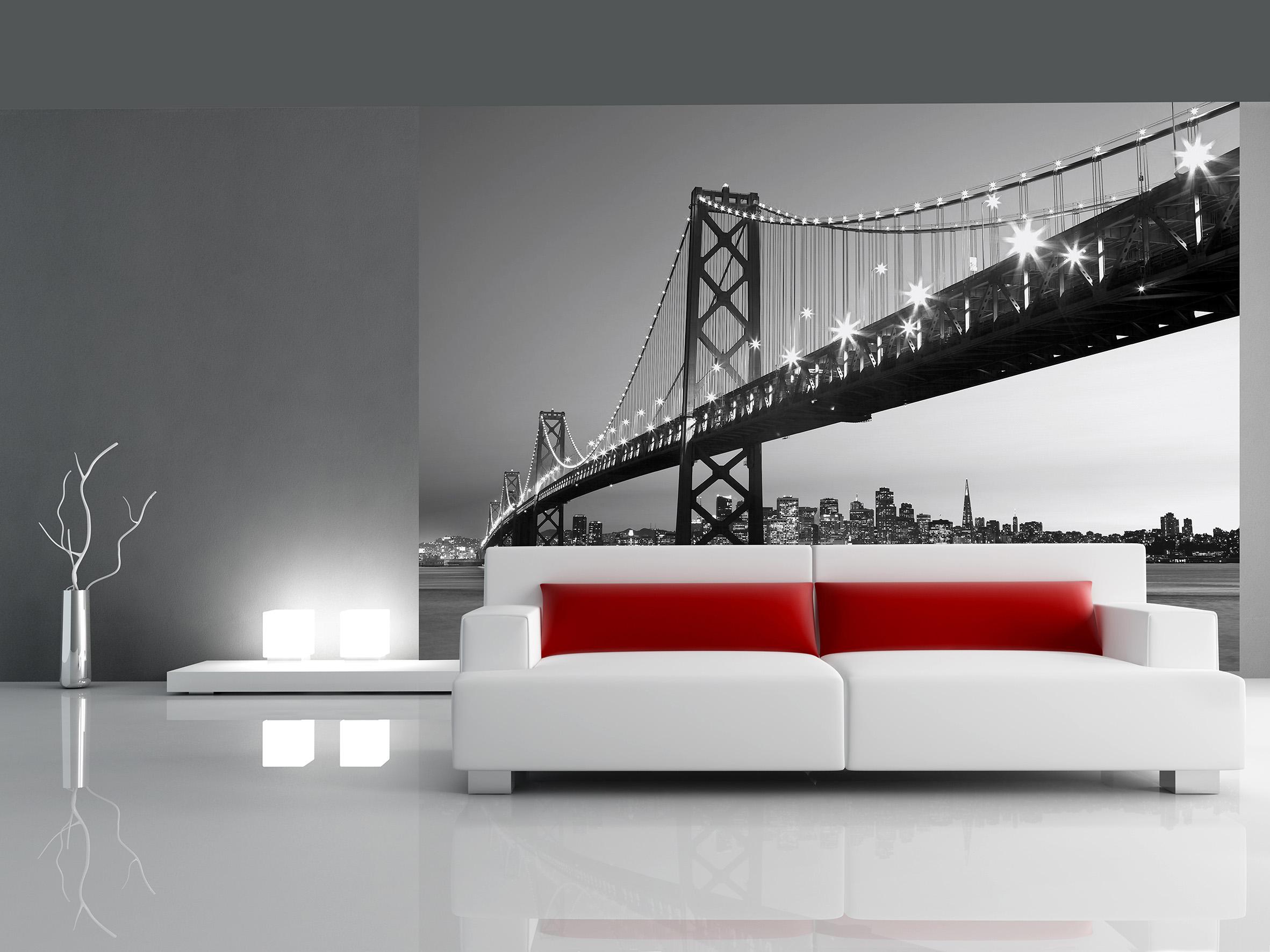 Fototapet San Francisco Skyline, Wizard&Genius, 8 segmente, 366 x 254cm