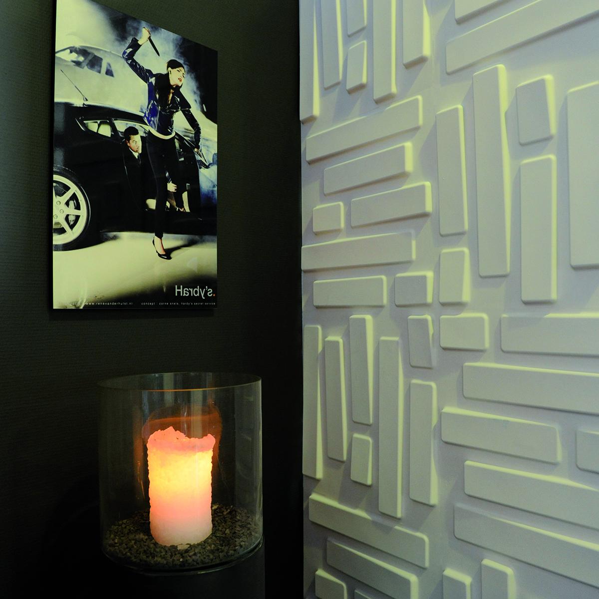 Panouri Decorative 3d Bricks Wallart 12 Placi 50x5