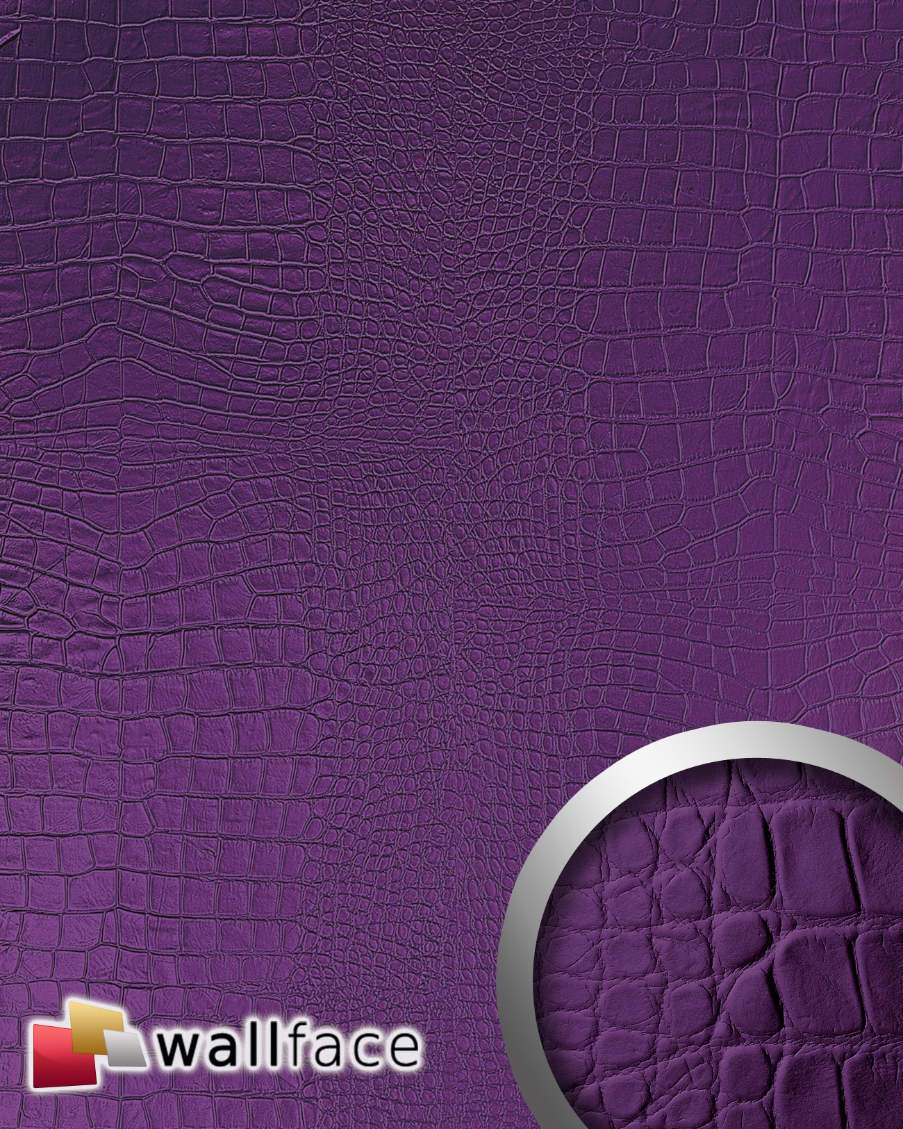 Panou Decorativ Leather 16415  Wallface  Autocolan