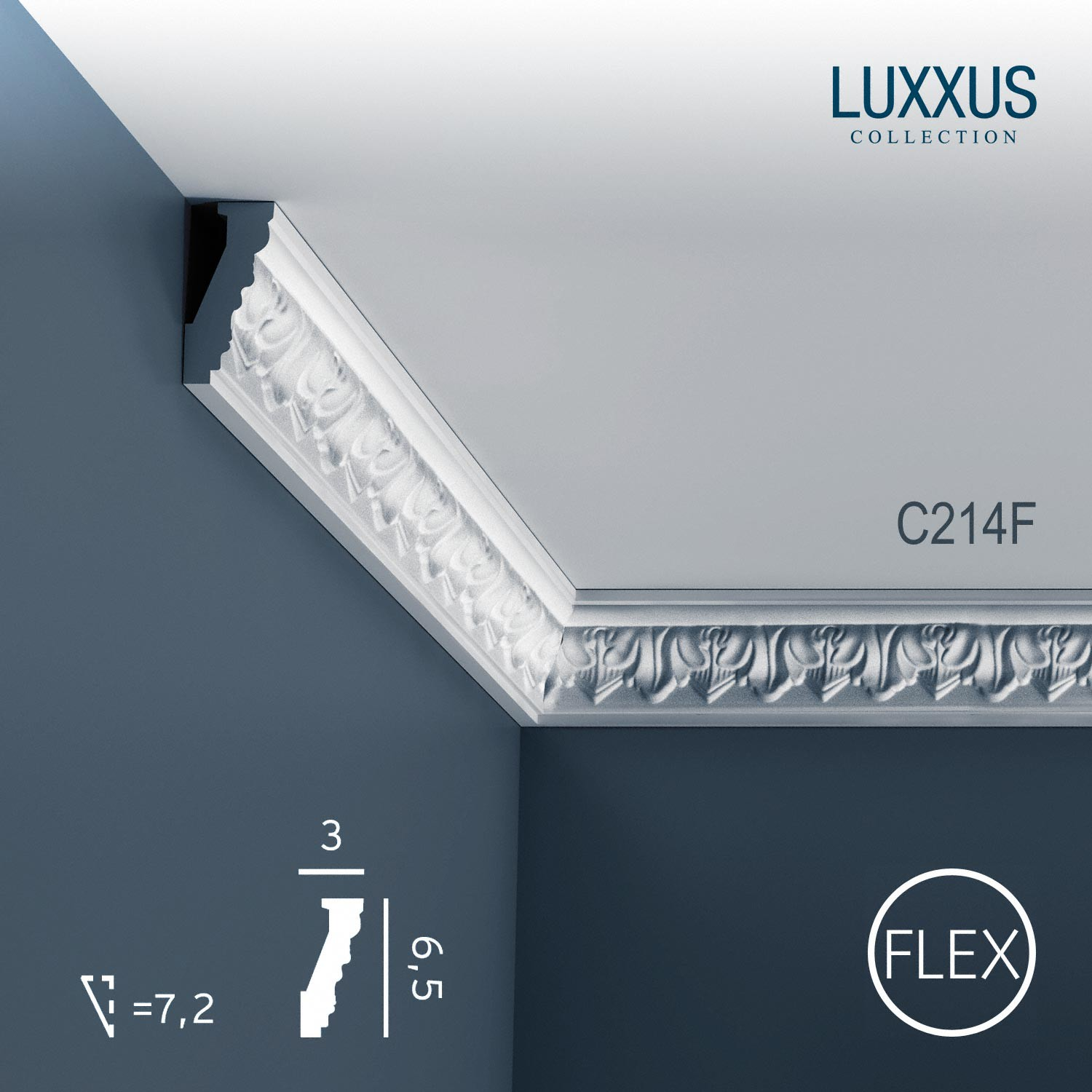 Element Decorativ Luxxus-flexible C214f Orac Decor